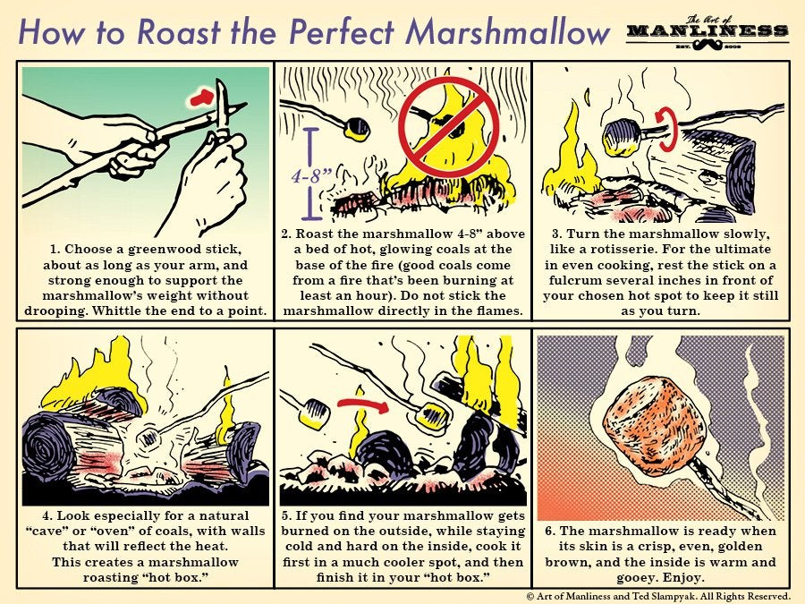 Roast the Perfect Marshmallow With This Handy Graphic