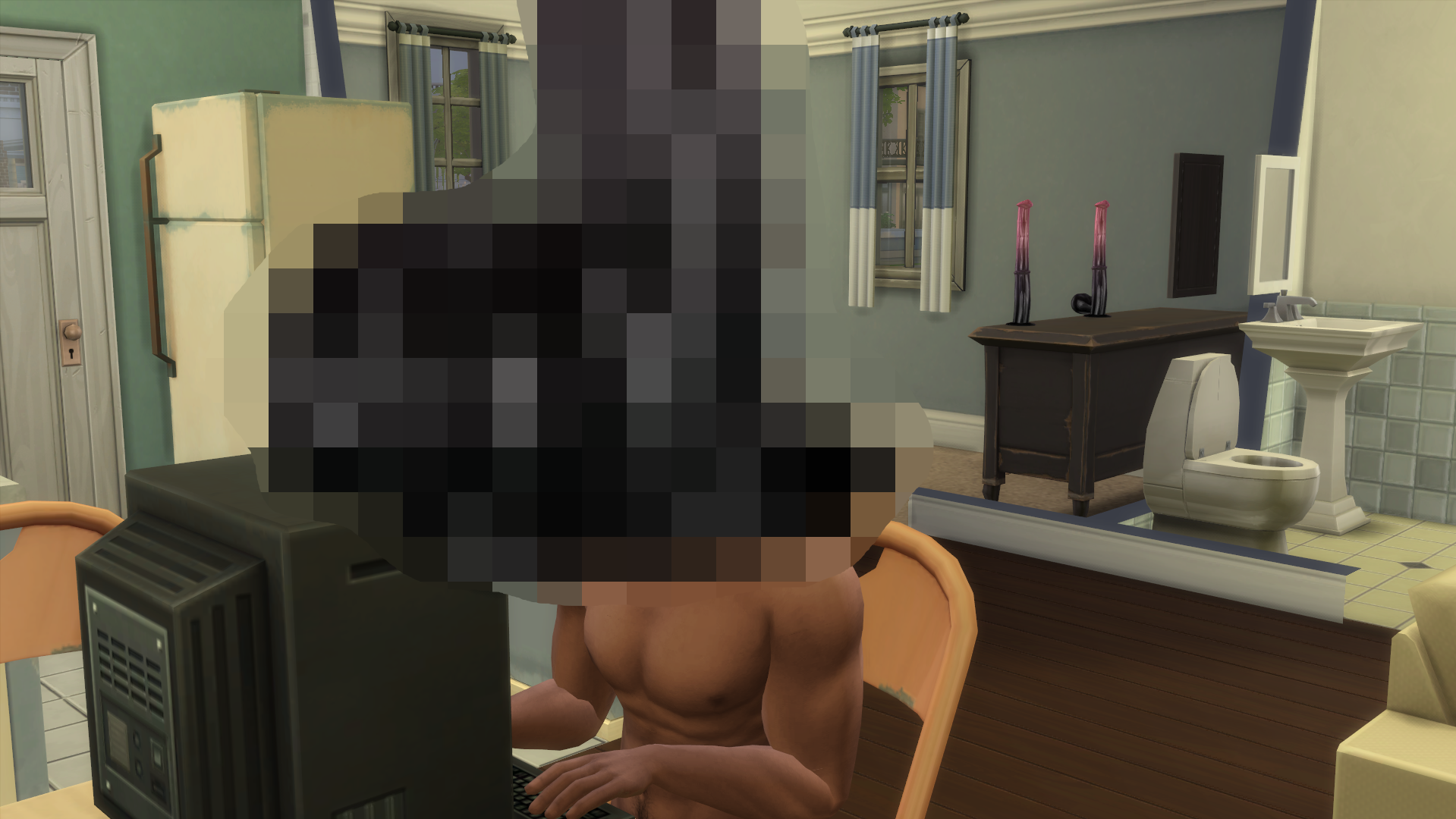 The Uplifting Tale Of 'Dildo Face', A Sim Who Dared To Dream