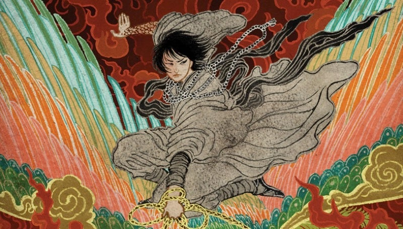 J.Y. Yang's NewSilkpunk Novellas Have Some Of The Most Gorgeous Covers We've Ever Seen