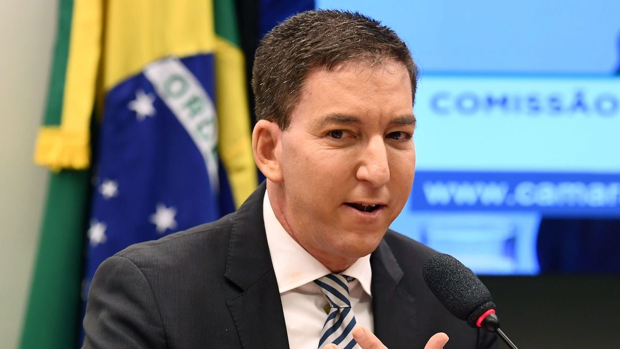Glenn Greenwald Charged With Cybercrimes After Embarrassing Officials In Brazil