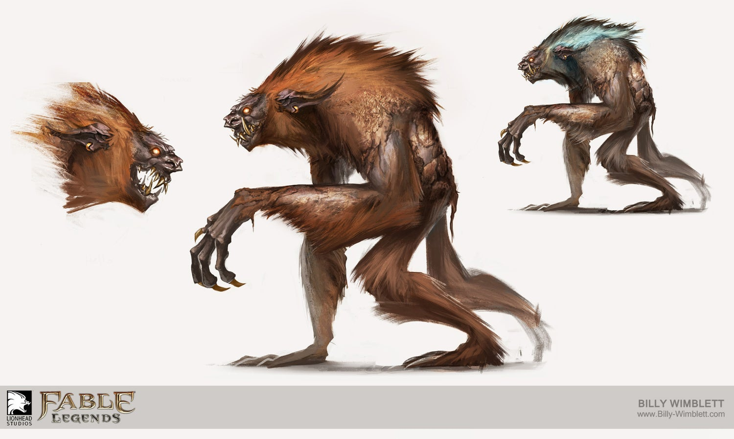Some Art From The Now-Canceled Fable: Legends
