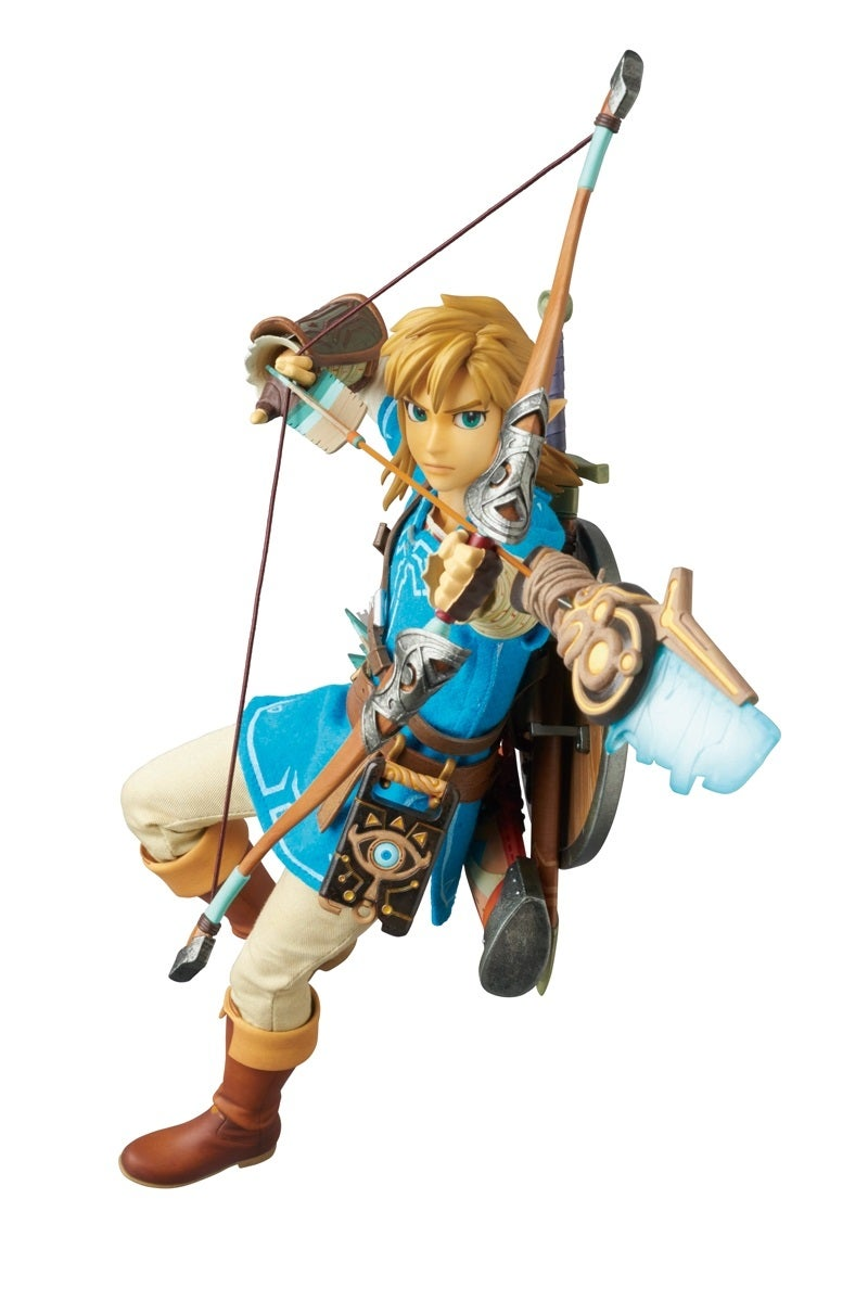 Breath Of The Wild Link Makes A Very Pretty Action Figure