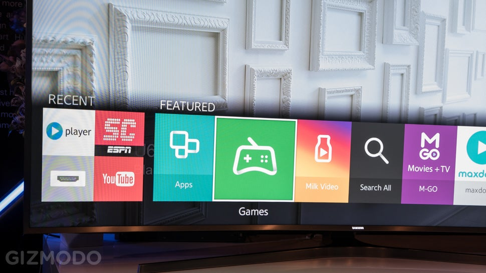 Samsung Made a 105-Inch Bendy UHD TV Because Why Wouldn't They