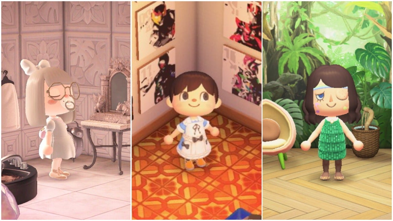 In Animal Crossing: New Horizons, People Are Decorating