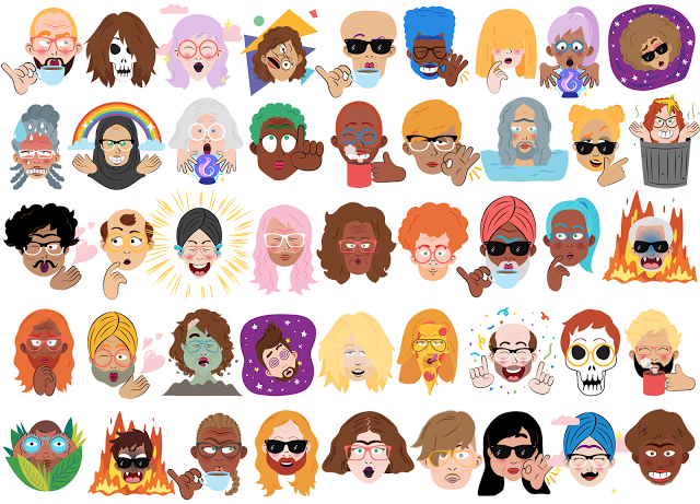 Google Allo's Selfie Stickers Are Cool, But Don't Get Too Excited