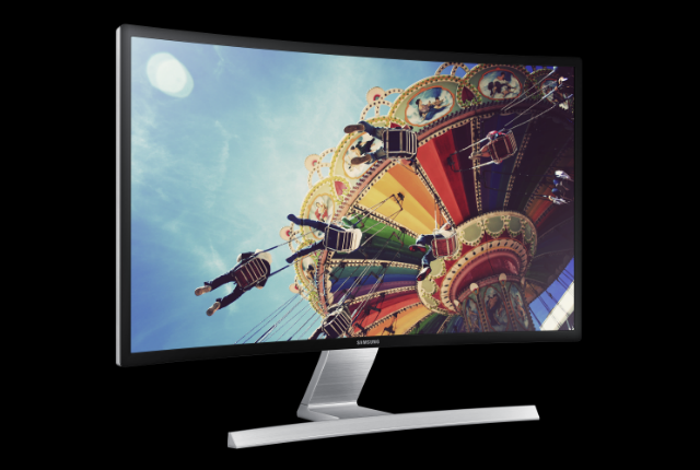 Samsung's 27-Inch Curved Gaming Monitors Are No Work, All Play