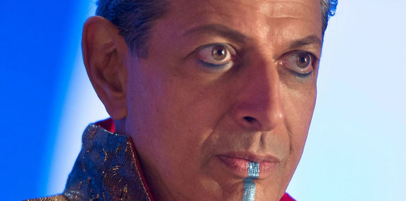 Thor: Ragnarok Made Sure There Was No Blue Paint Between Us And Jeff Goldblum's Glorious Performance