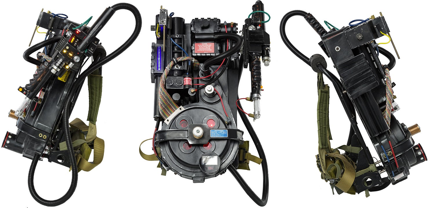 This Build-it-Yourself Ghostbusters' Proton Pack Is the Coolest Thing You Will See Today