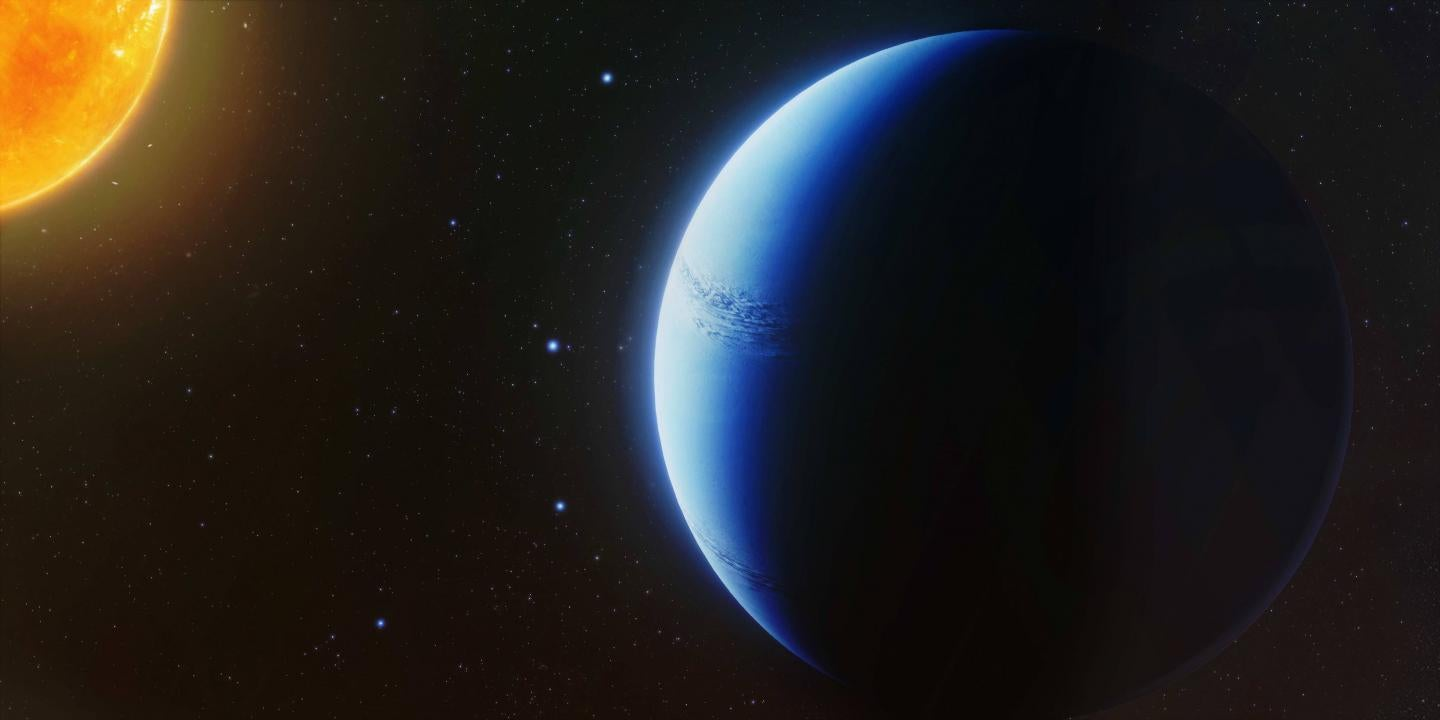 On This Saturn-Like Exoplanet, The Forecast Always Calls For Clear Skies