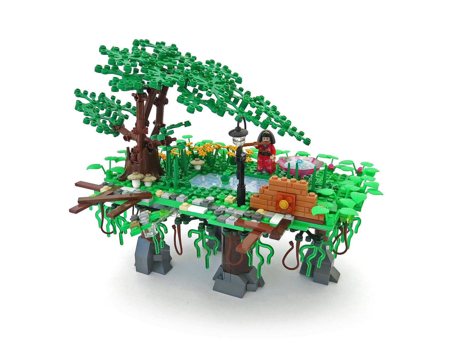 This Bastion-Inspired LEGO World Deserves Its Own Game
