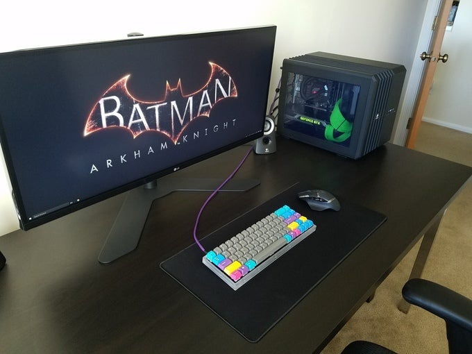 The All Batman, All Organised Workspace