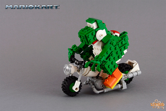 Bowser Would Easily Win LEGO Mario Kart