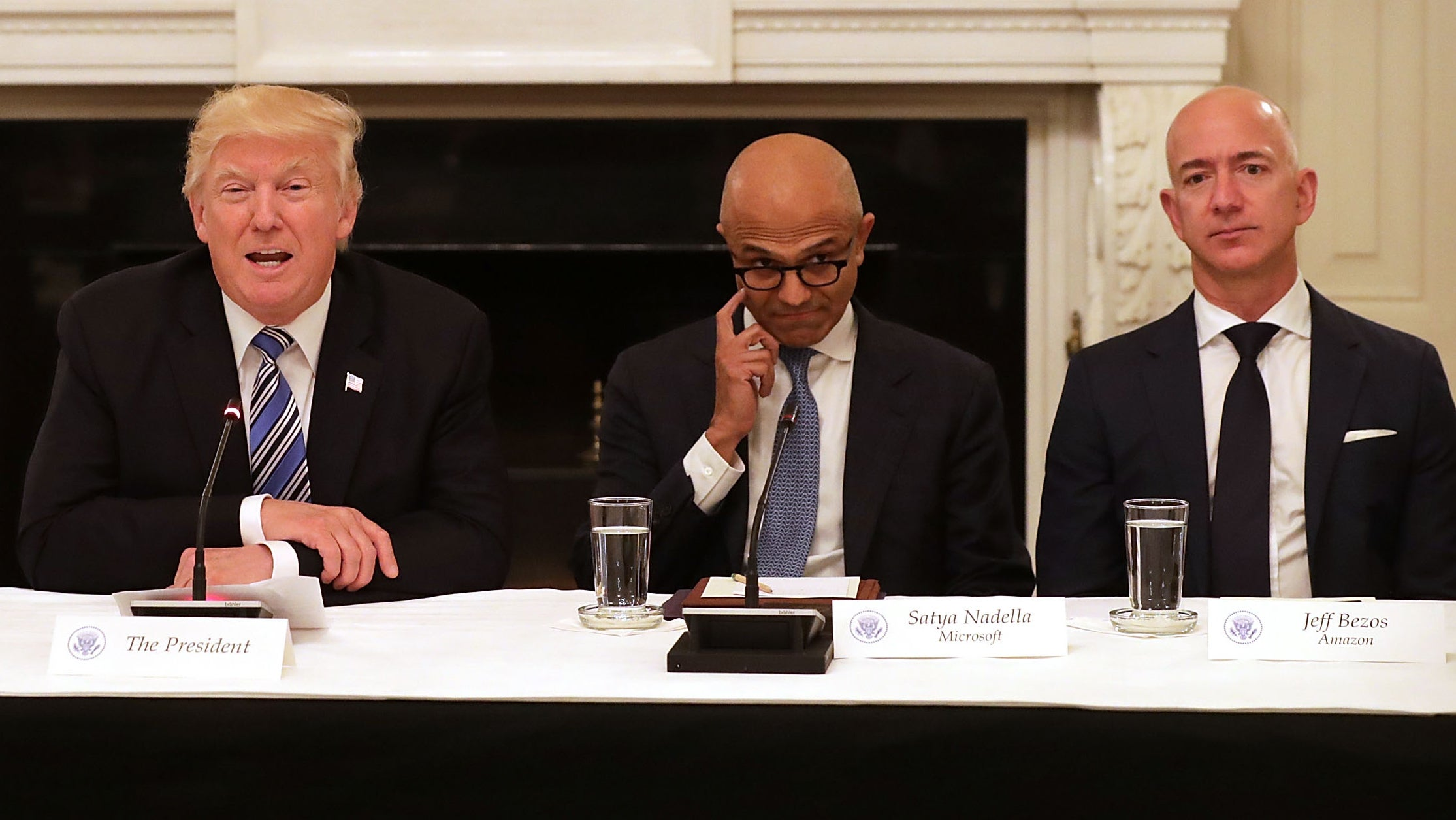 Amazon Lost $US53 Billion In One Day Because Trump Has Opinions