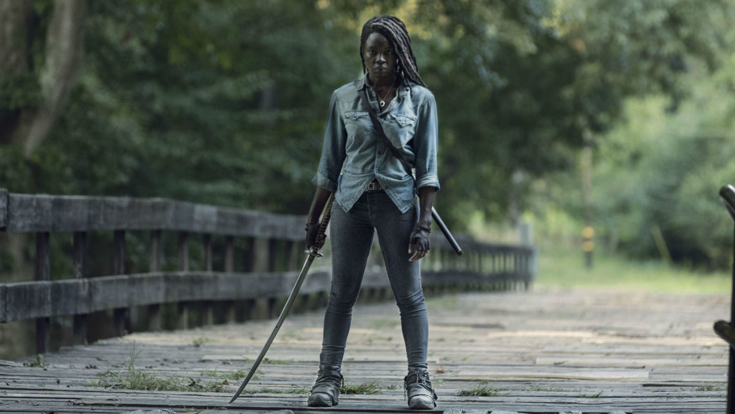 The Walking Dead's Danai Gurira Is Making Her Inevitable Exit From The Zombie Series