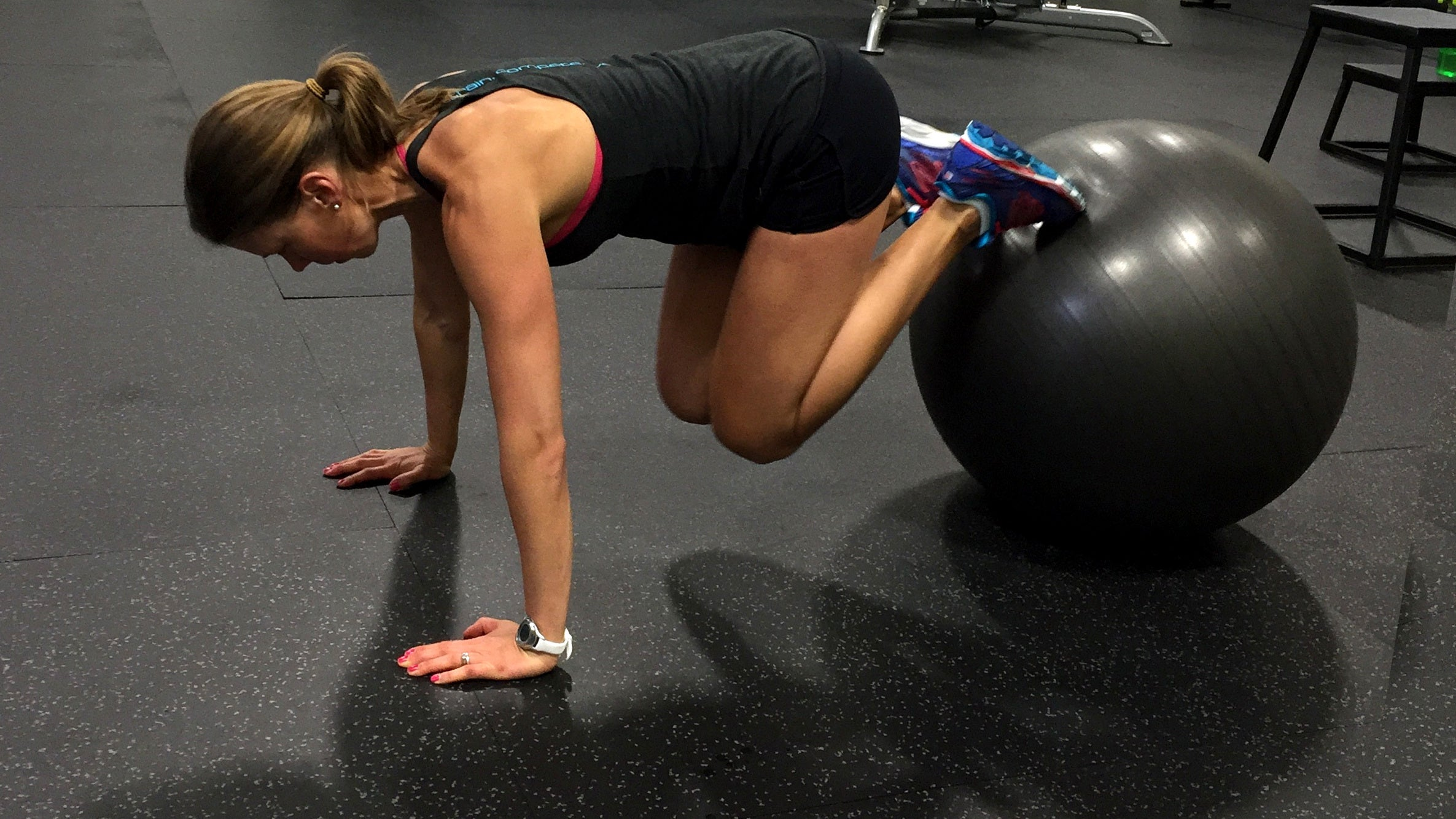 Try These Stability Ball Core Exercises