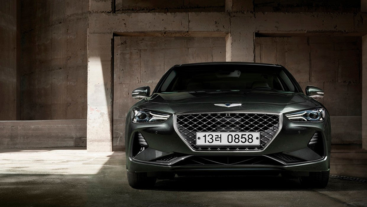 The 2021 Genesis G70 Is Sticking With The Manual Option