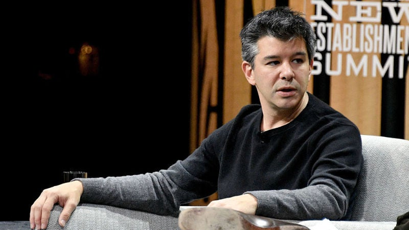 Investor Lawsuit Seeks To Remove Travis Kalanick From Uber Entirely