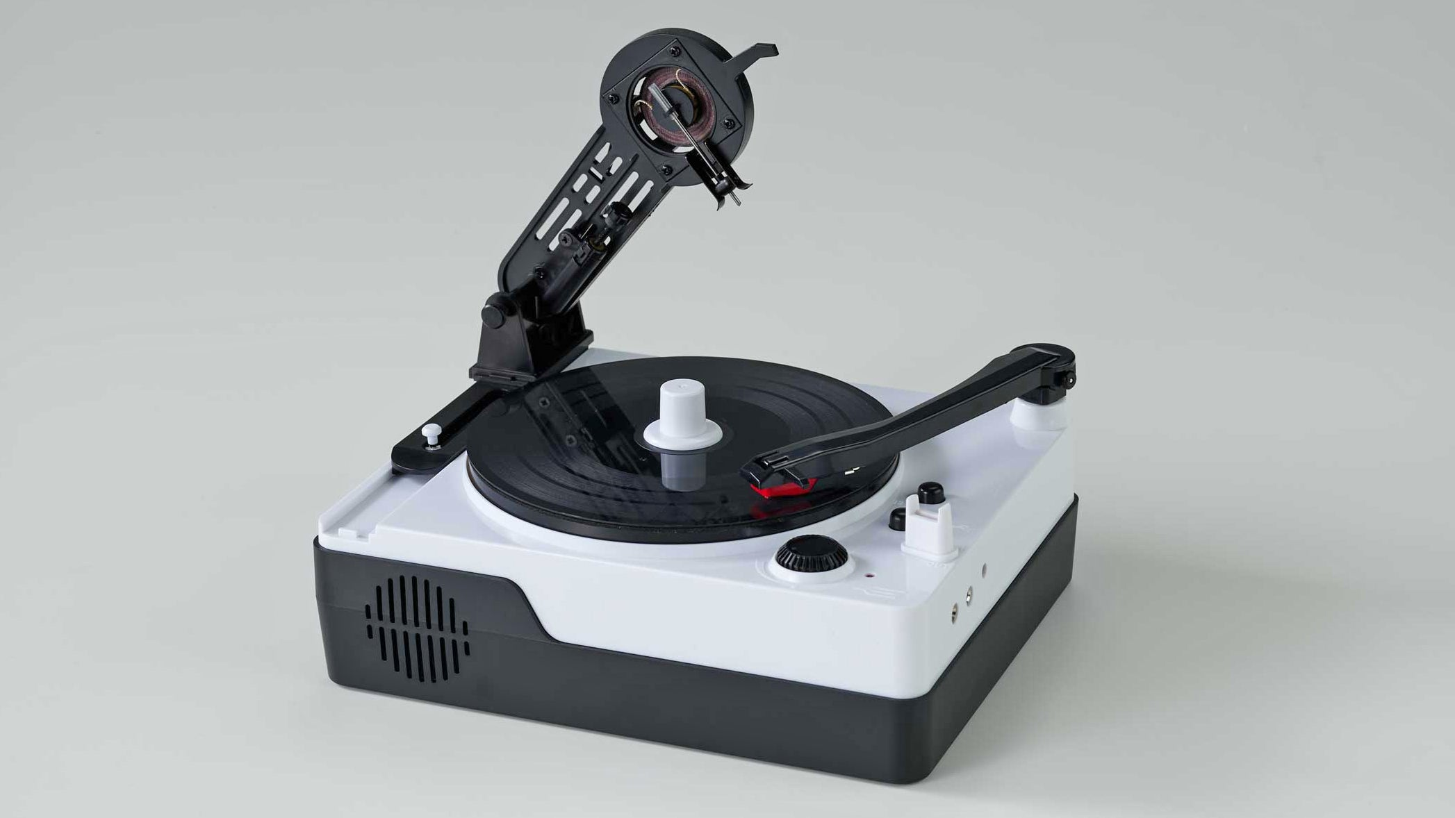 Adorable Miniature Record Maker Teaches Kids Not To Take Spotify For Granted