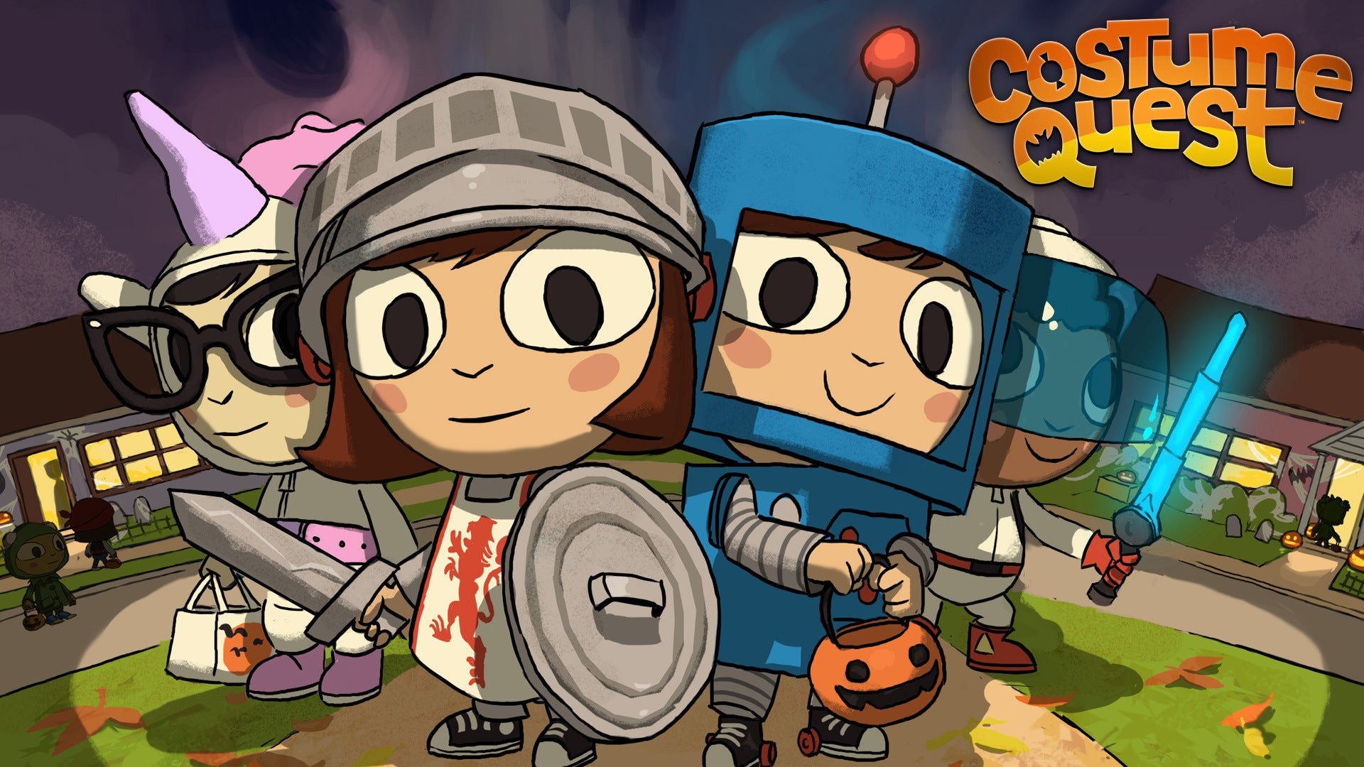 Costume Quest — the Cutest Halloween Game Ever — Gets a Sequel