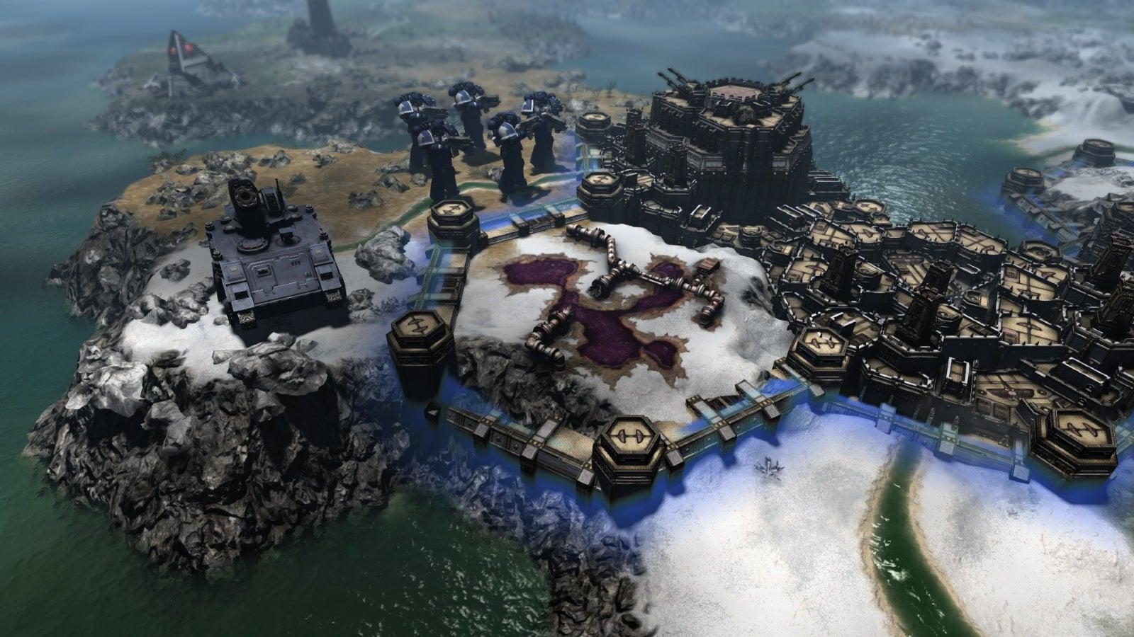 New Warhammer 40K Game Looks A Lot Like Civilisation