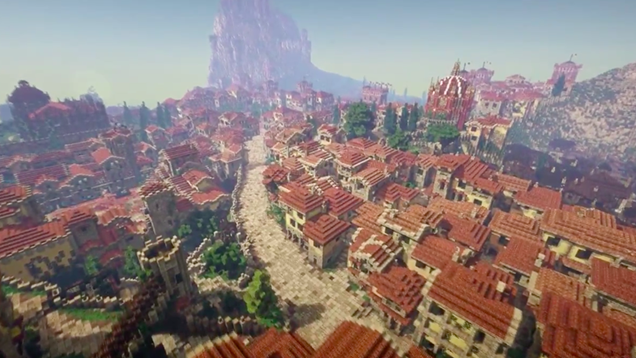 125 People Are Building All Of Game of Thrones In Minecraft