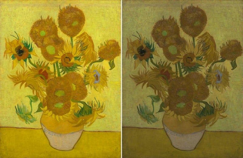 Scientists Think They Have Figured Out Why Van Gogh's Sunflowers Are Fading