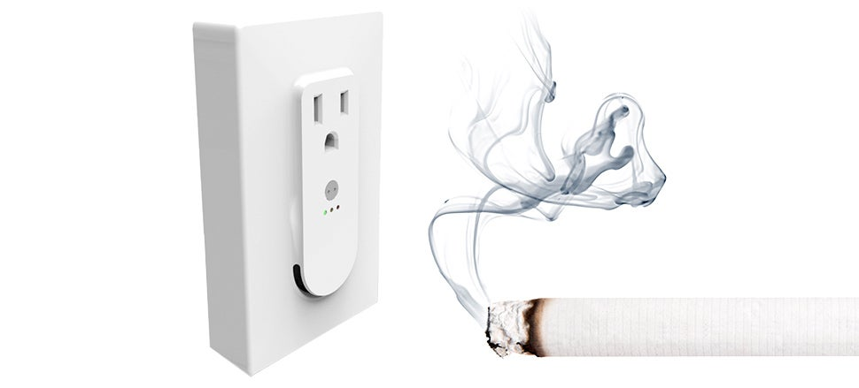 Tattletale Smoke Detector Knows When and What You're Smoking
