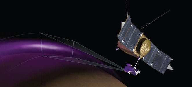 The MAVEN Spacecraft Has Spotted a Strange Aurora on Mars