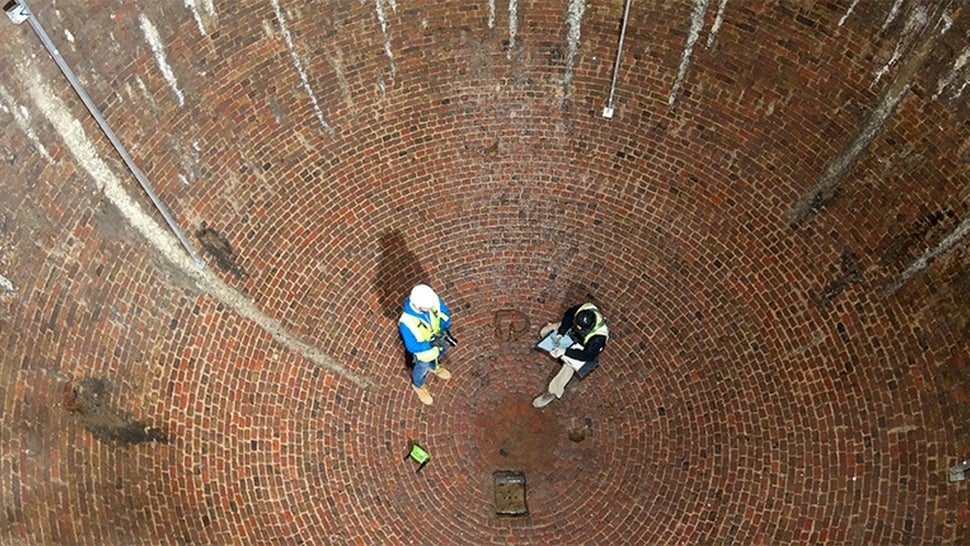 Enormous 18th-Century Ice House Re-Discovered Under London Street