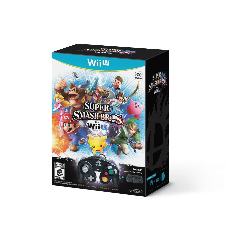 $99 Super Smash Bros Wii U Bundle Spotted on Amazon