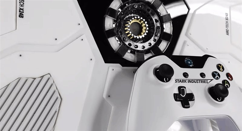 Tony Stark Was Able To Build This Xbox In A CAVE! With A Box Of SCRAPS!