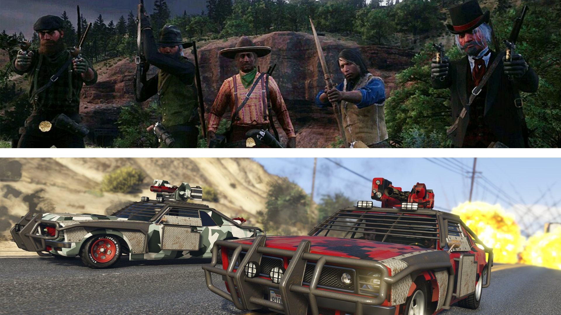 Red Dead Online & GTA Online's Battle Royale Modes Aren't Great