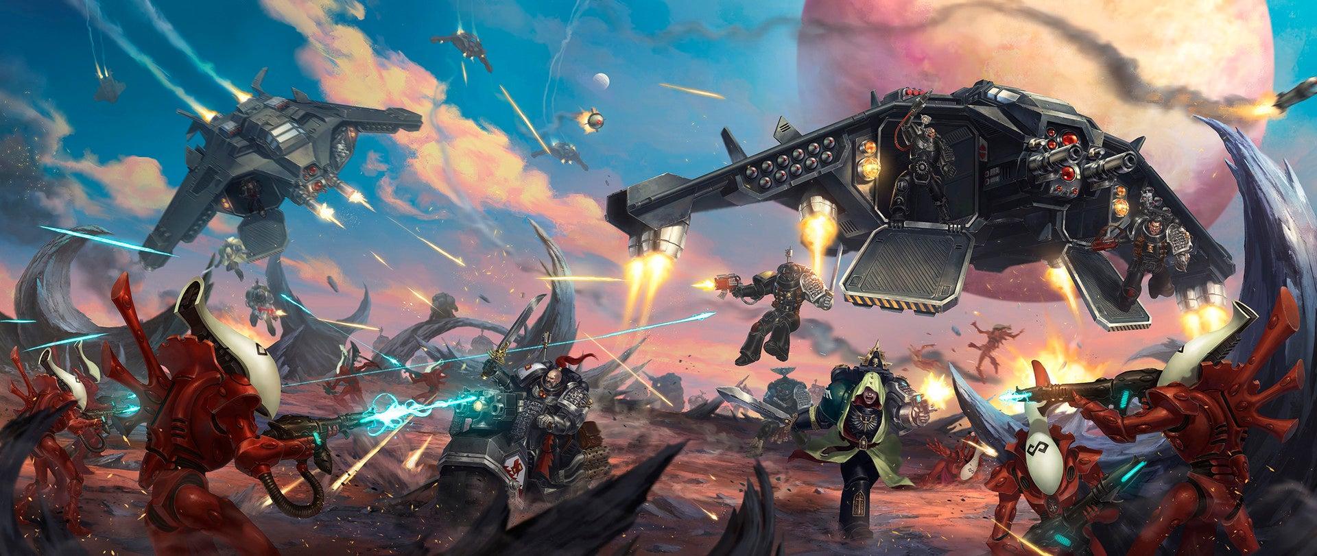 Fine Art: Warhammer 40K Battles Are Never Subtle | Kotaku Australia