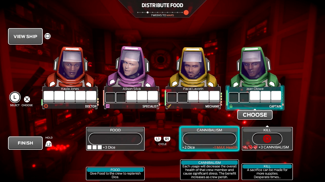 A Game About Getting To Mars Without Resorting To Cannibalism