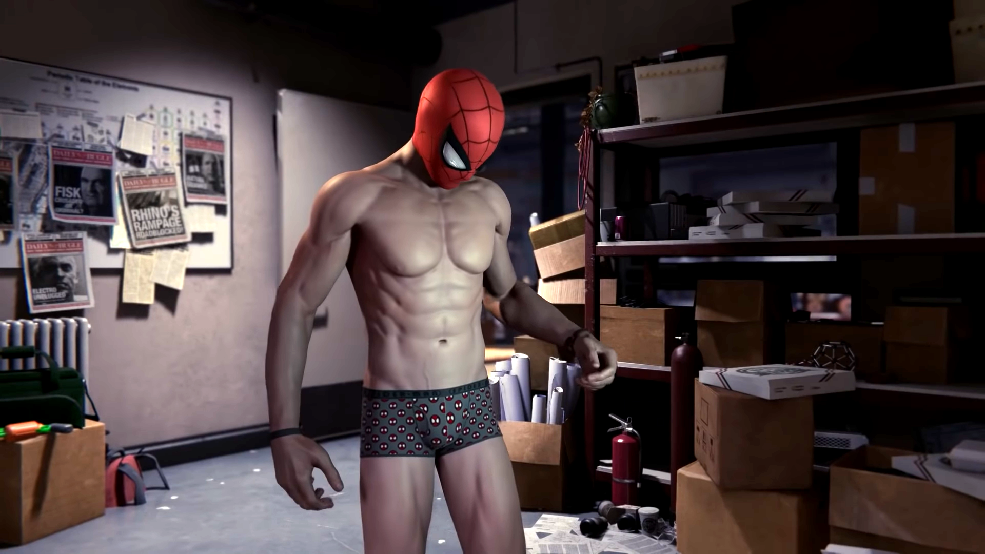 The Only Artist Ever To Sculpt Spider-Man's Nipples In A Video Game Wanted Them To Be 'Hot,' But Not Distracting