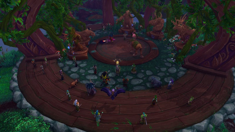 An Early Look At World of Warcraft: Legion's Class Halls