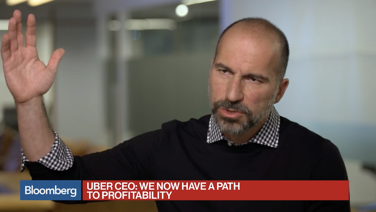 This Interview With Uber's CEO Should Be Placed In A Time Capsule For The Year 2029
