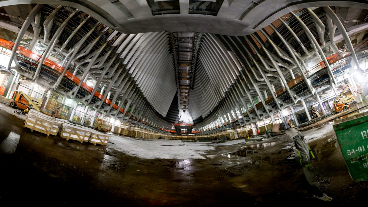 Someone Snuck Into NYC's $US4 Billion Train Station And Took These Pics