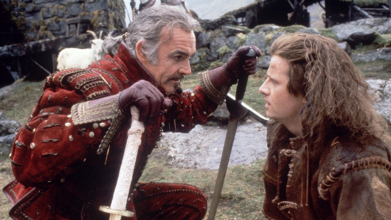 There Was So, So Much Drinking On The Original Highlander Set