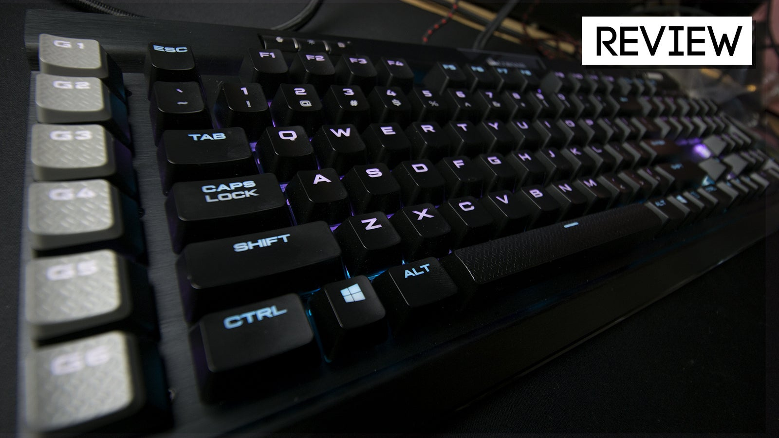Corsair Gaming K95 RGB Platinum Review: A Very Gaming Keyboard