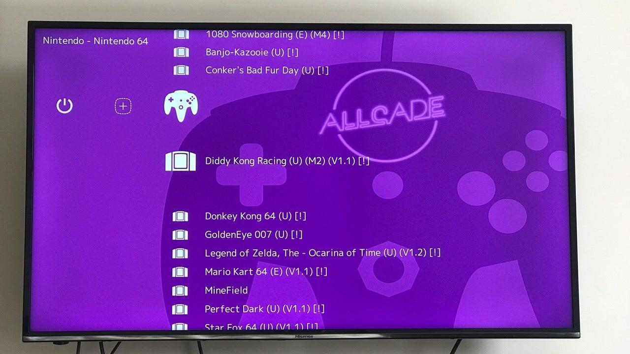 Allcade 64-Bit Retro Console: The Gizmodo Review   Gizmodo