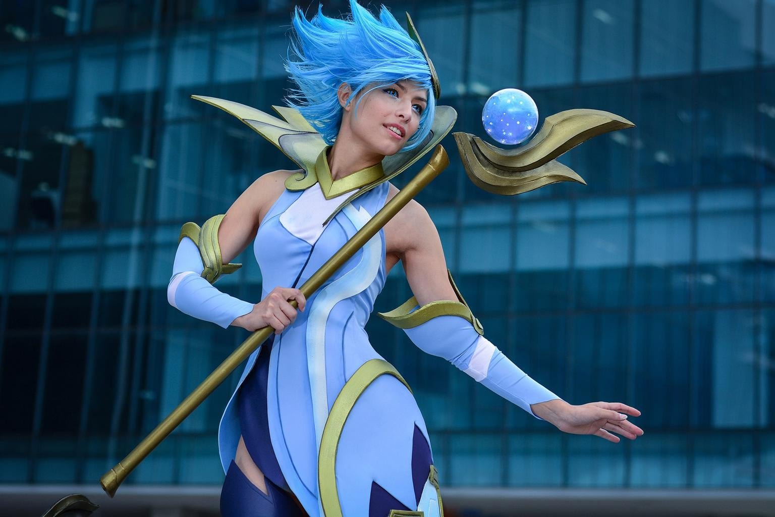 cosplay lux of League legends