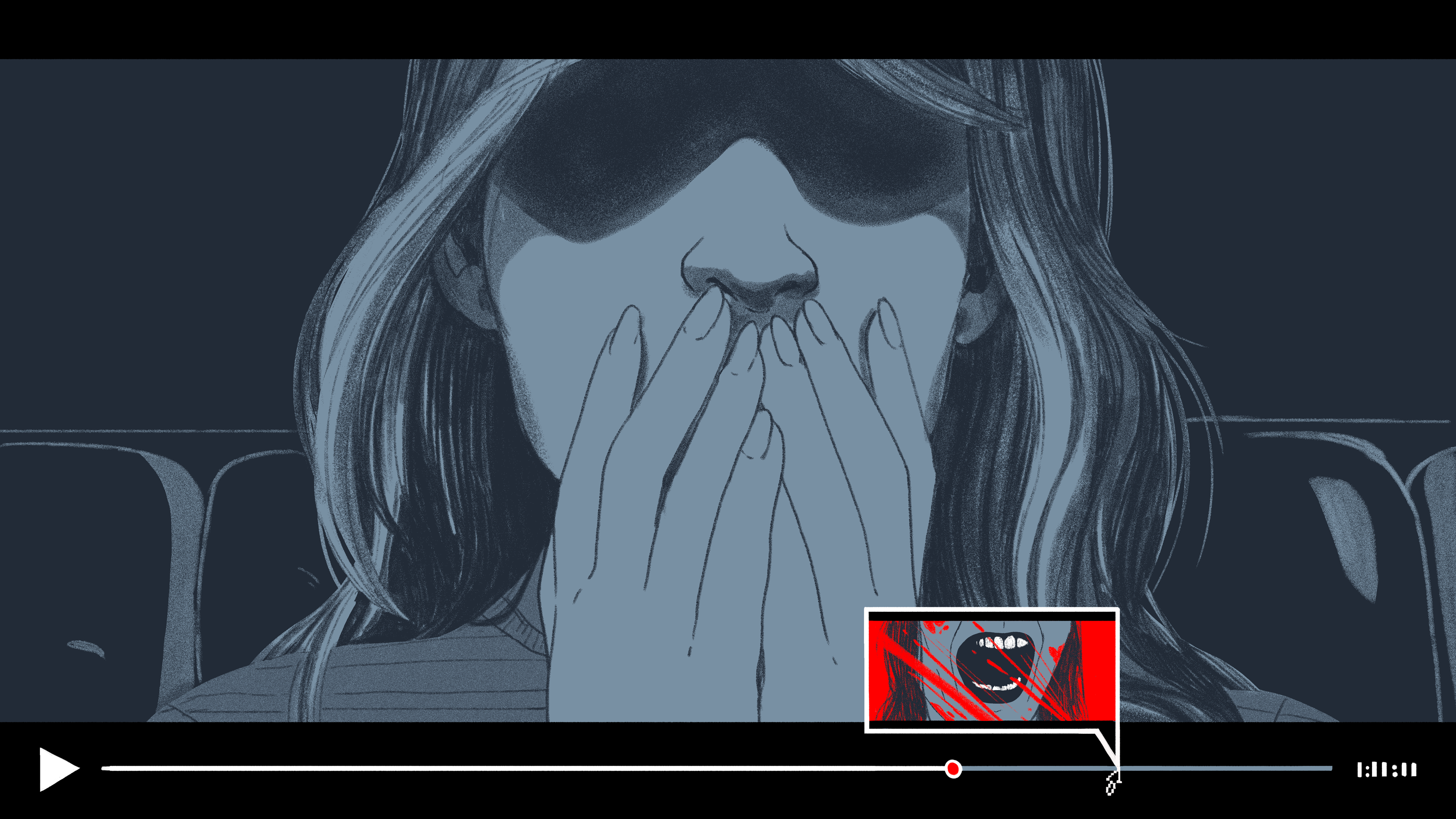 My Trick For Watching Scary Movies Even Though I'm A Total Coward