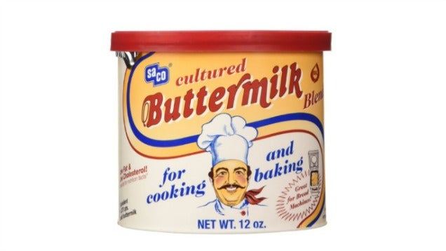Avoid Wasting Buttermilk By Buying The Powdered Stuff