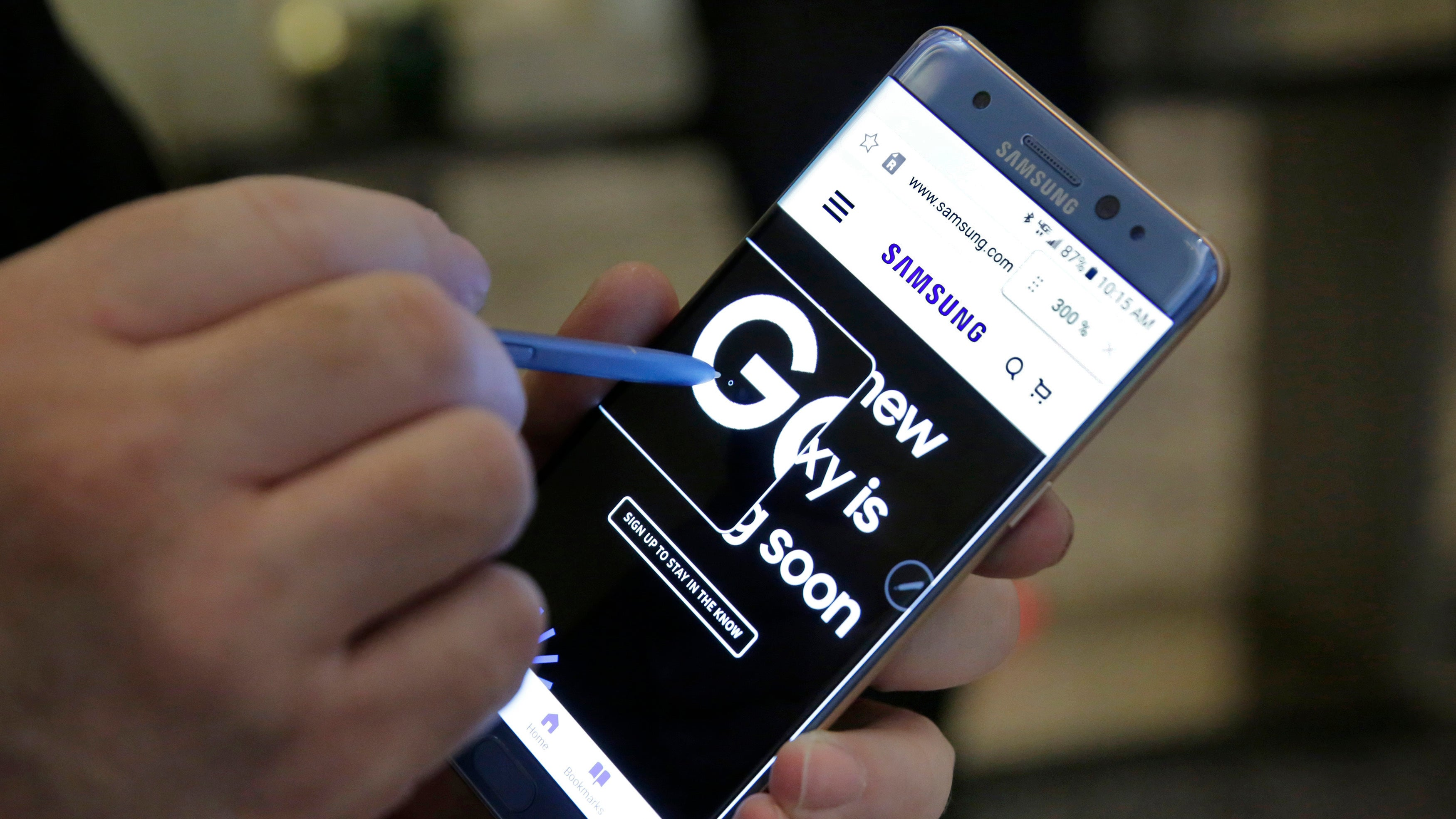 Wait, Are The New Note 7s Overheating Too?
