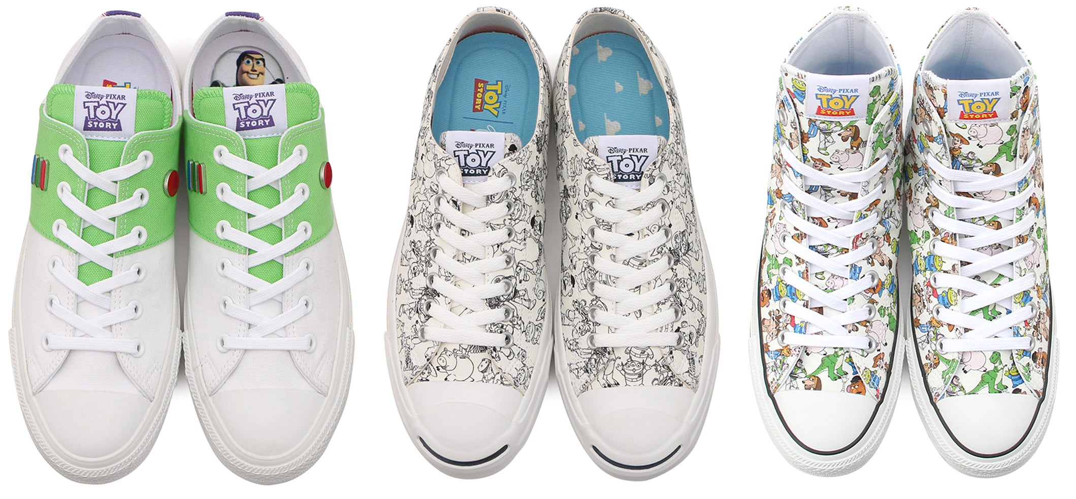 665e8c60b4 Converse Teamed Up With Pixar To Put Toy Story Characters On Your Classic  All Stars