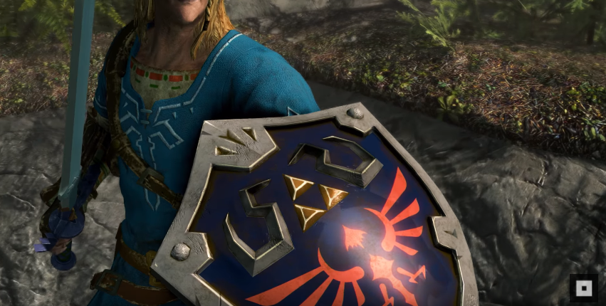 Skyrim Switch Lets You Dress Up As Link