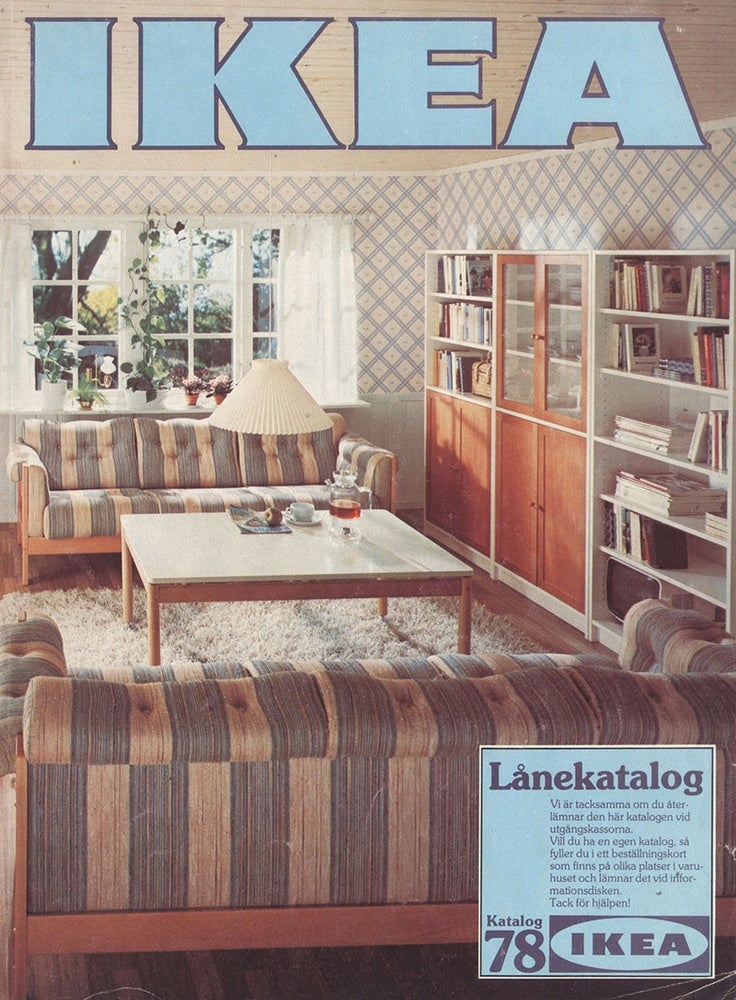 Every Ikea Catalogue Cover Since 1951