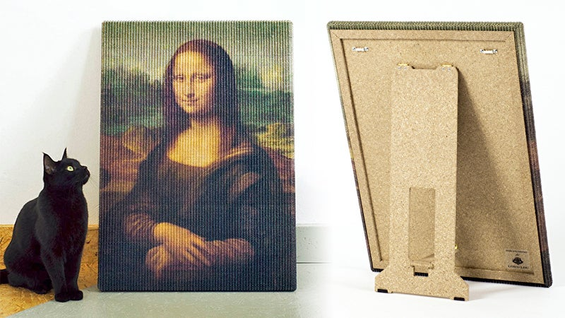 Masterpiece Scratching Posts Let Your Cats Destroy Priceless Works of Art