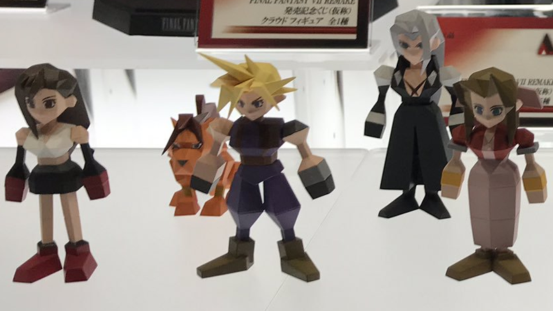 I Can't Stop Looking At These Perfect Final Fantasy VII Figures